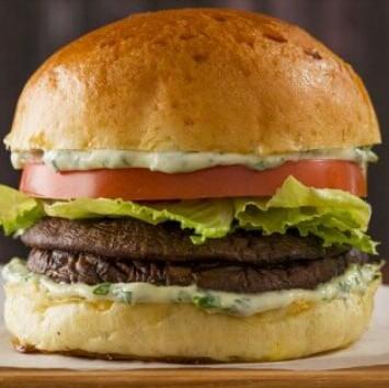 Vegan Grilled Portobello Burgers