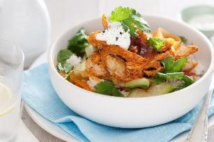 Indian chicken and rice salad