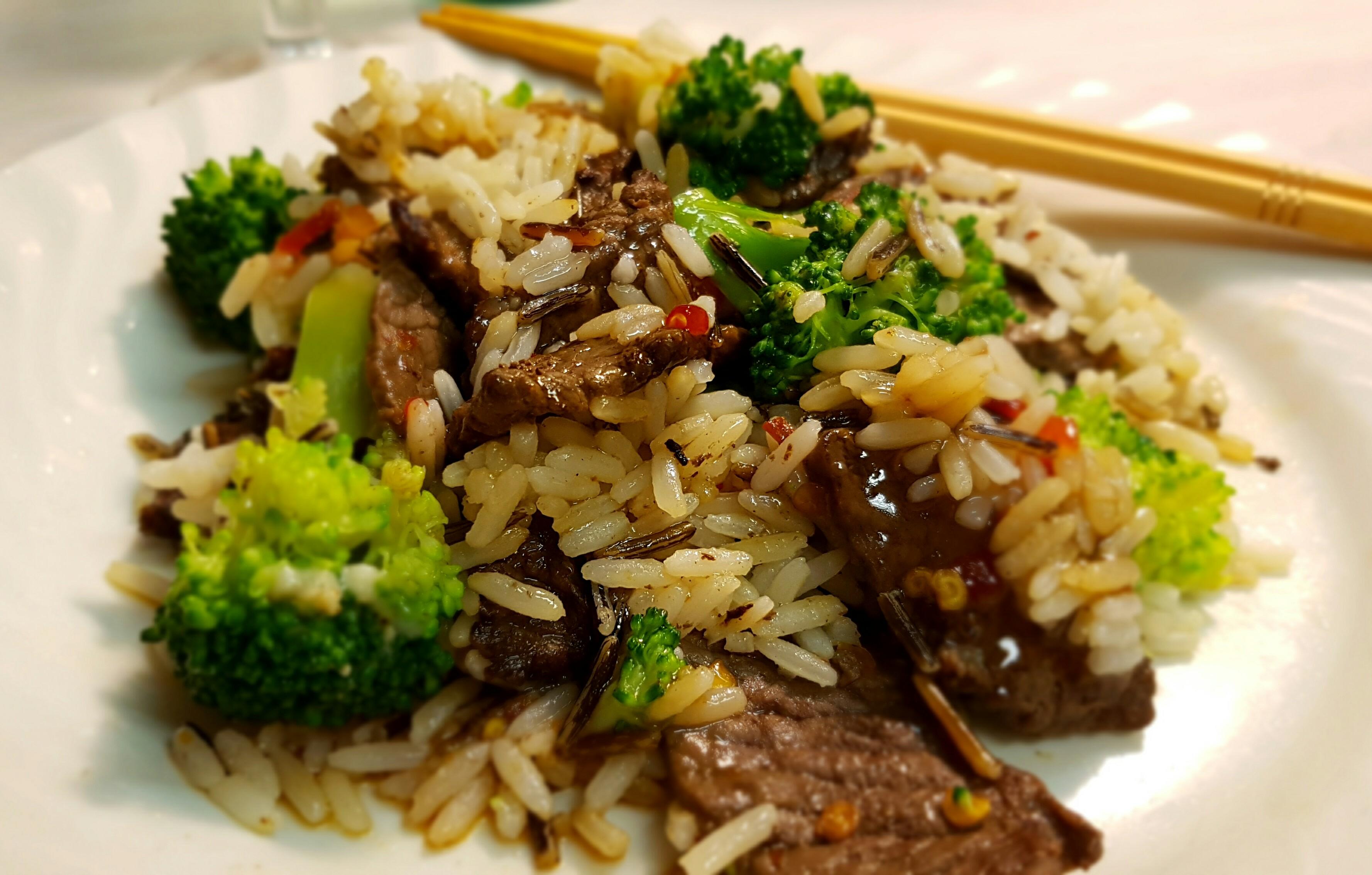 Beef & Broccoli Rice