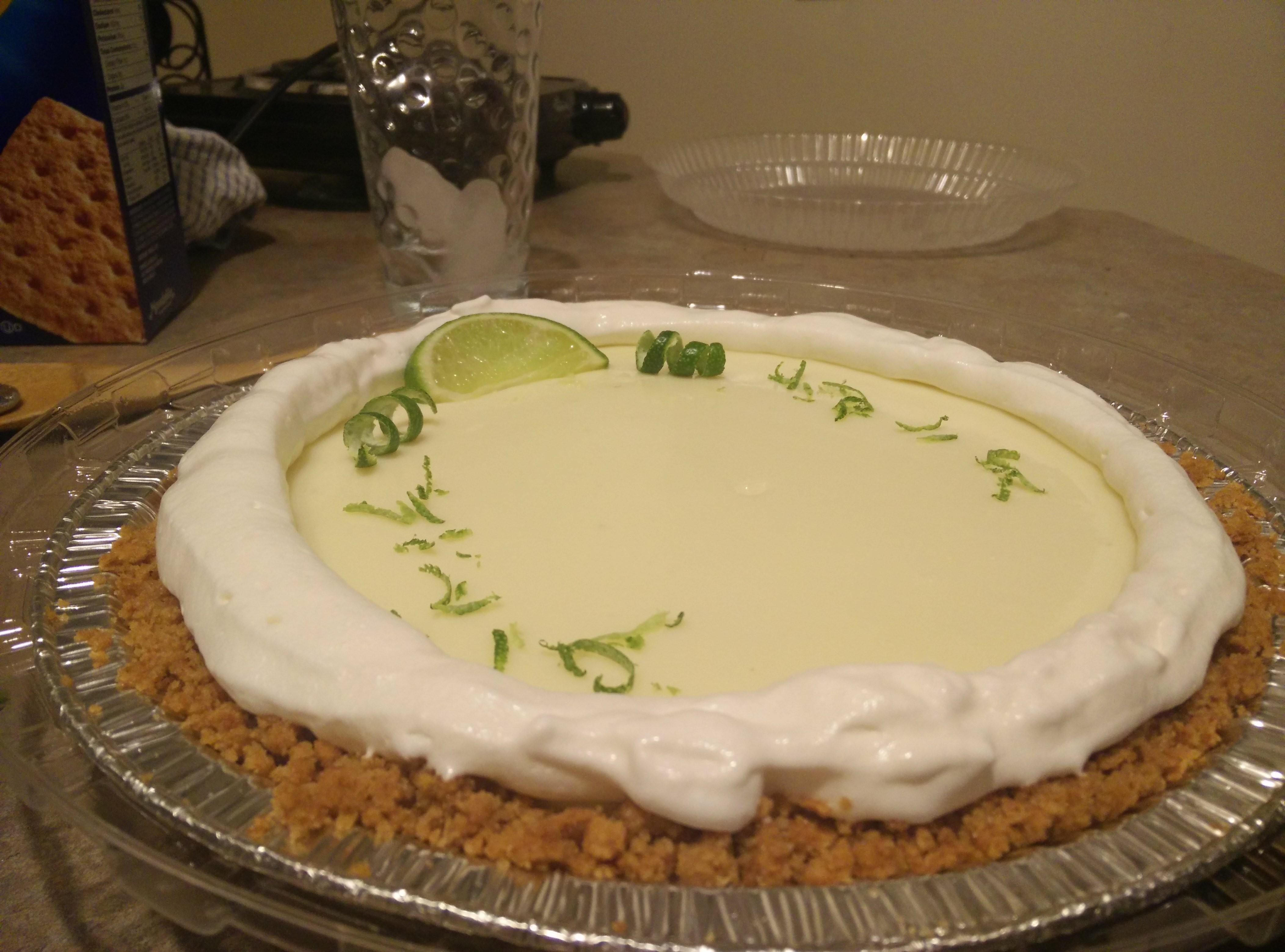 Glorious Key Lime Pie