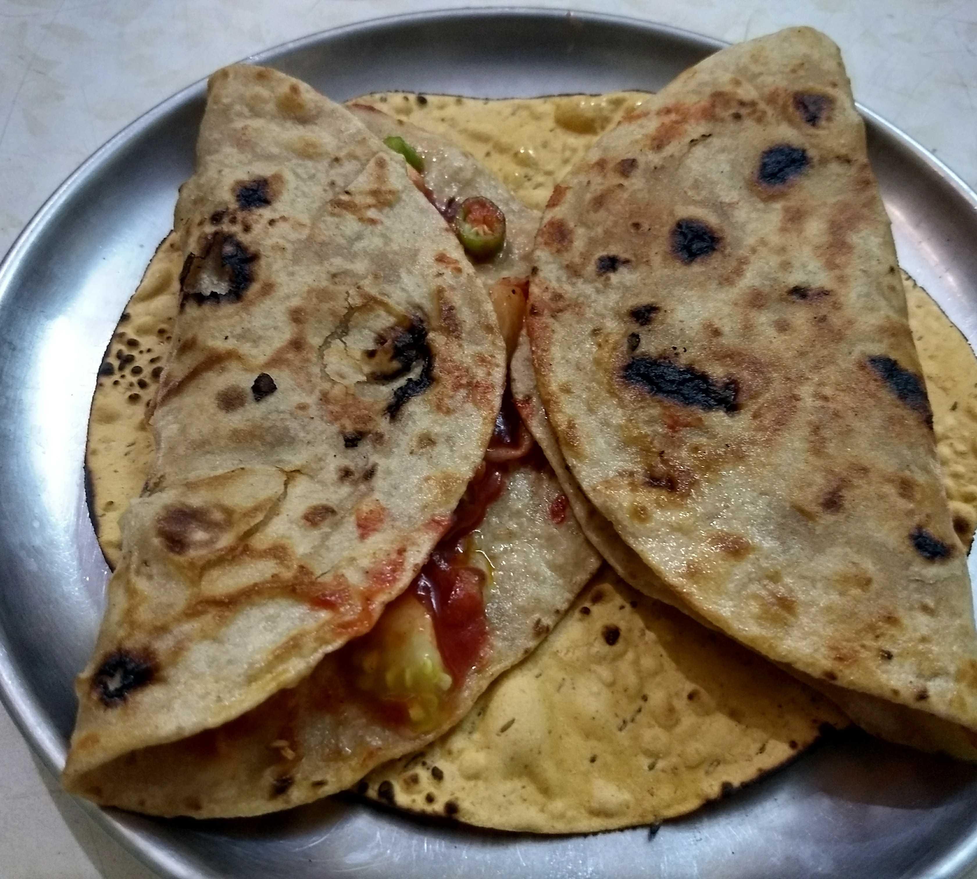 Chapati Sandwich
