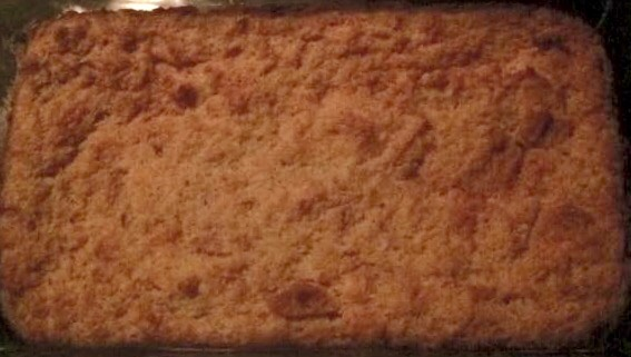 Large Homemade Bread Pudding