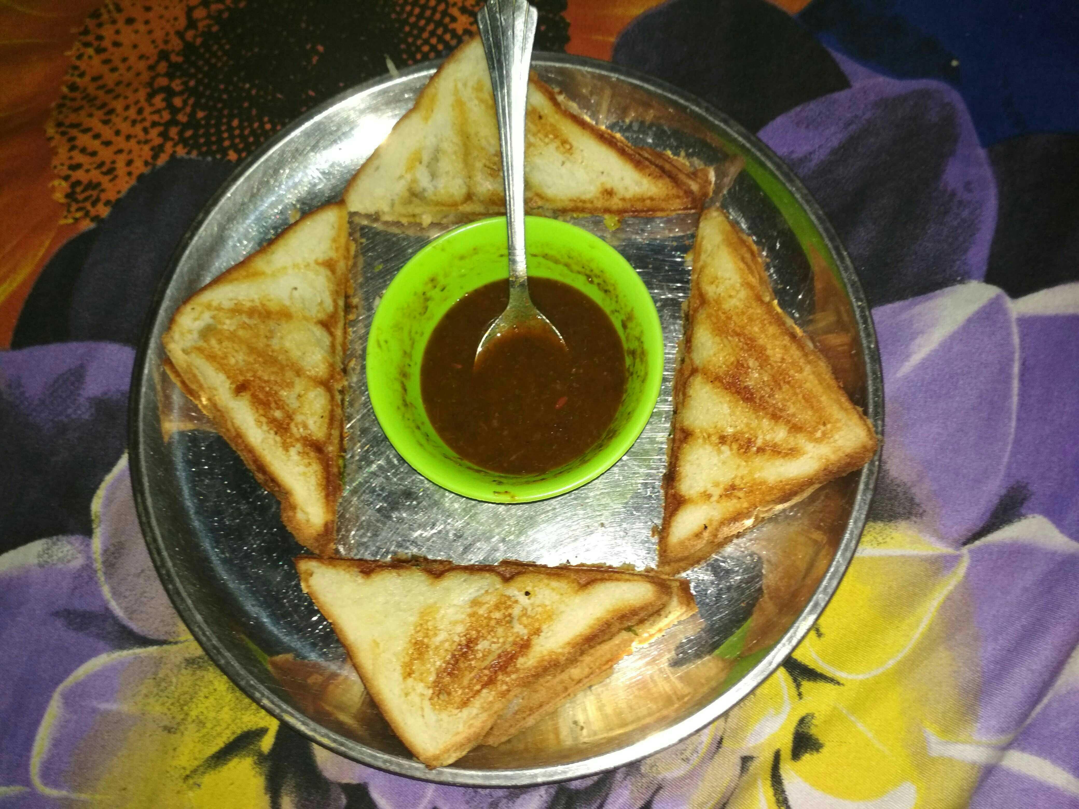 Allo Panner Bread Toast