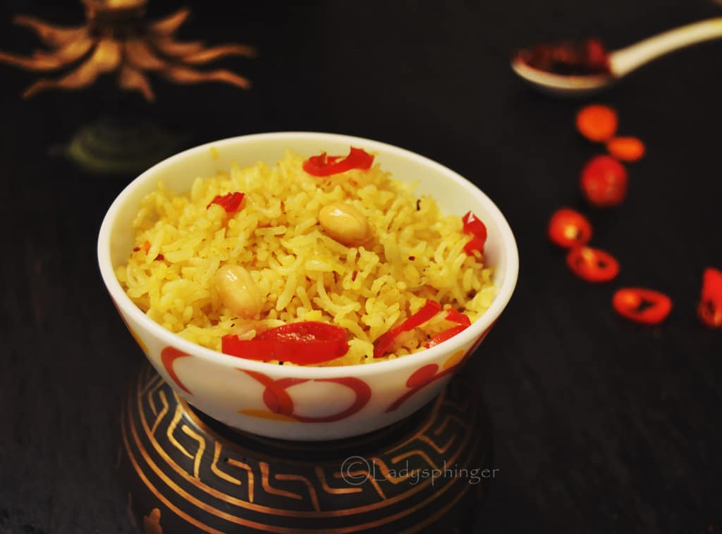 Turmeric Chili Rice