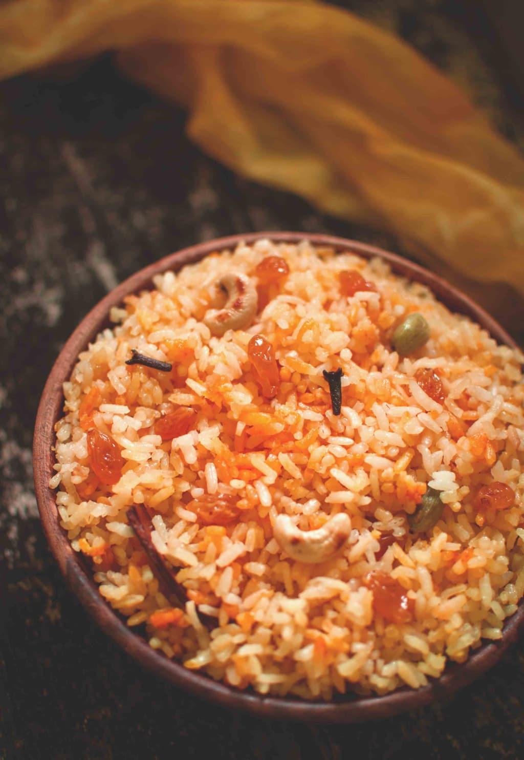 Himachali Sweet Rice
