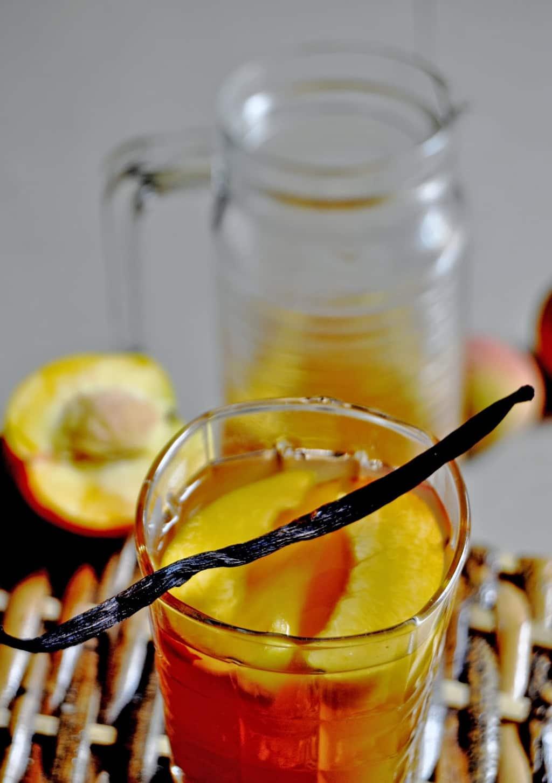 Peach Vanilla Iced Tea