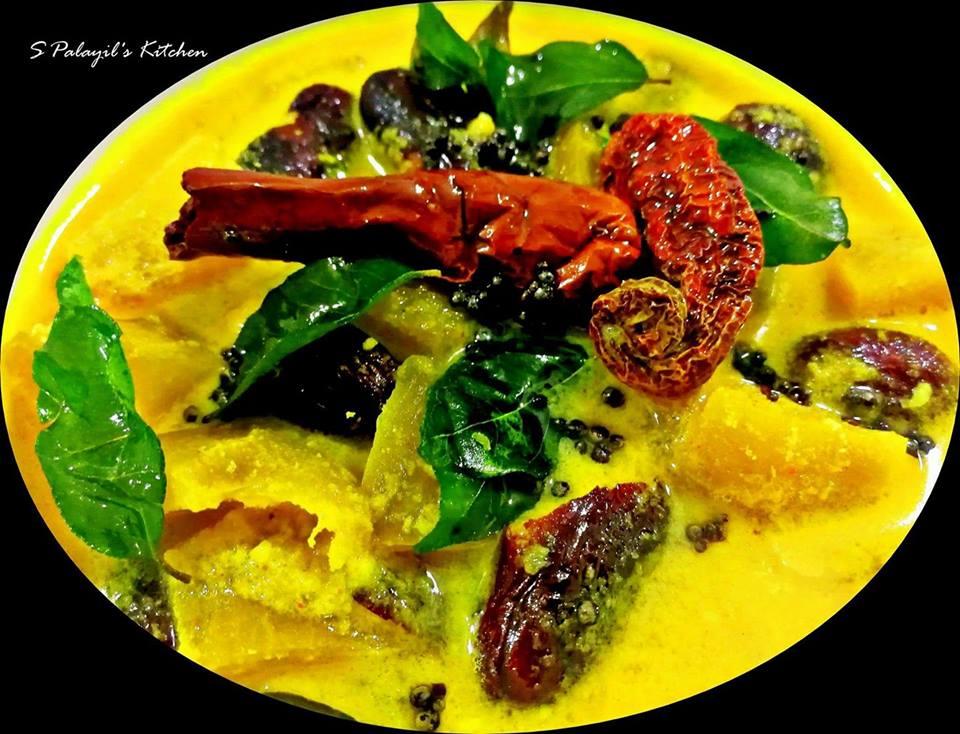 Chakkakuru Manga curry/ Jackfruit Seeds Mango Curry