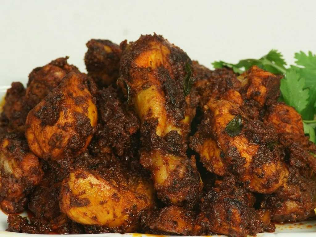 Kerala Spicy Chicken Fry