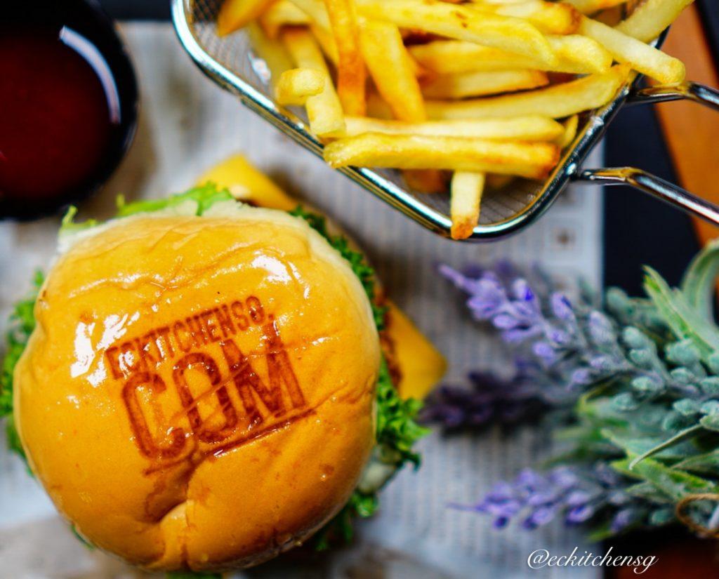 Better Than M*D Shrimp Burger with Homemade Tartar Sauce