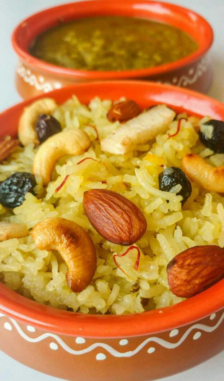 Taydi / Sindhi Sweet Rice