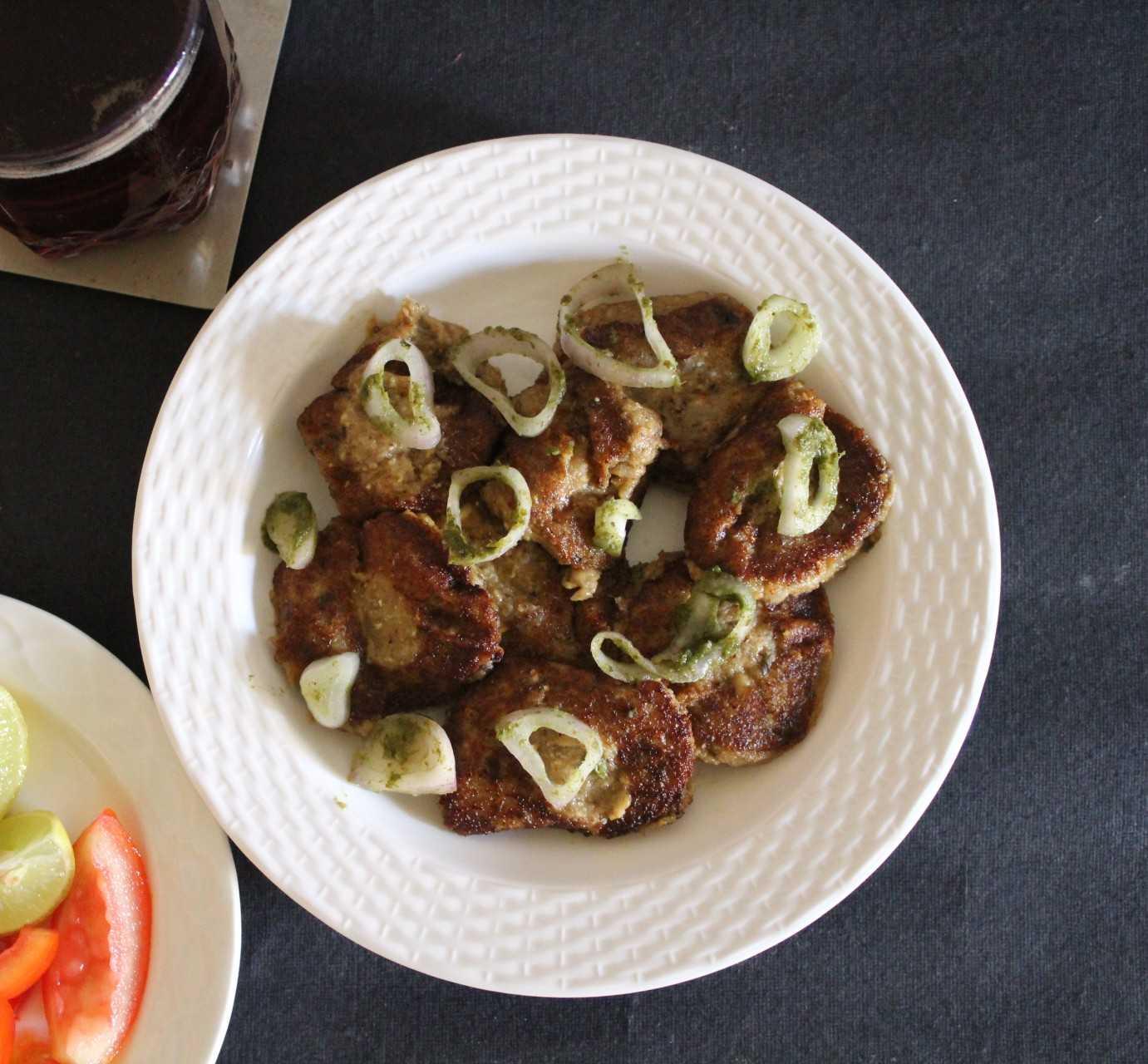 Mushroom Galouti Kabab