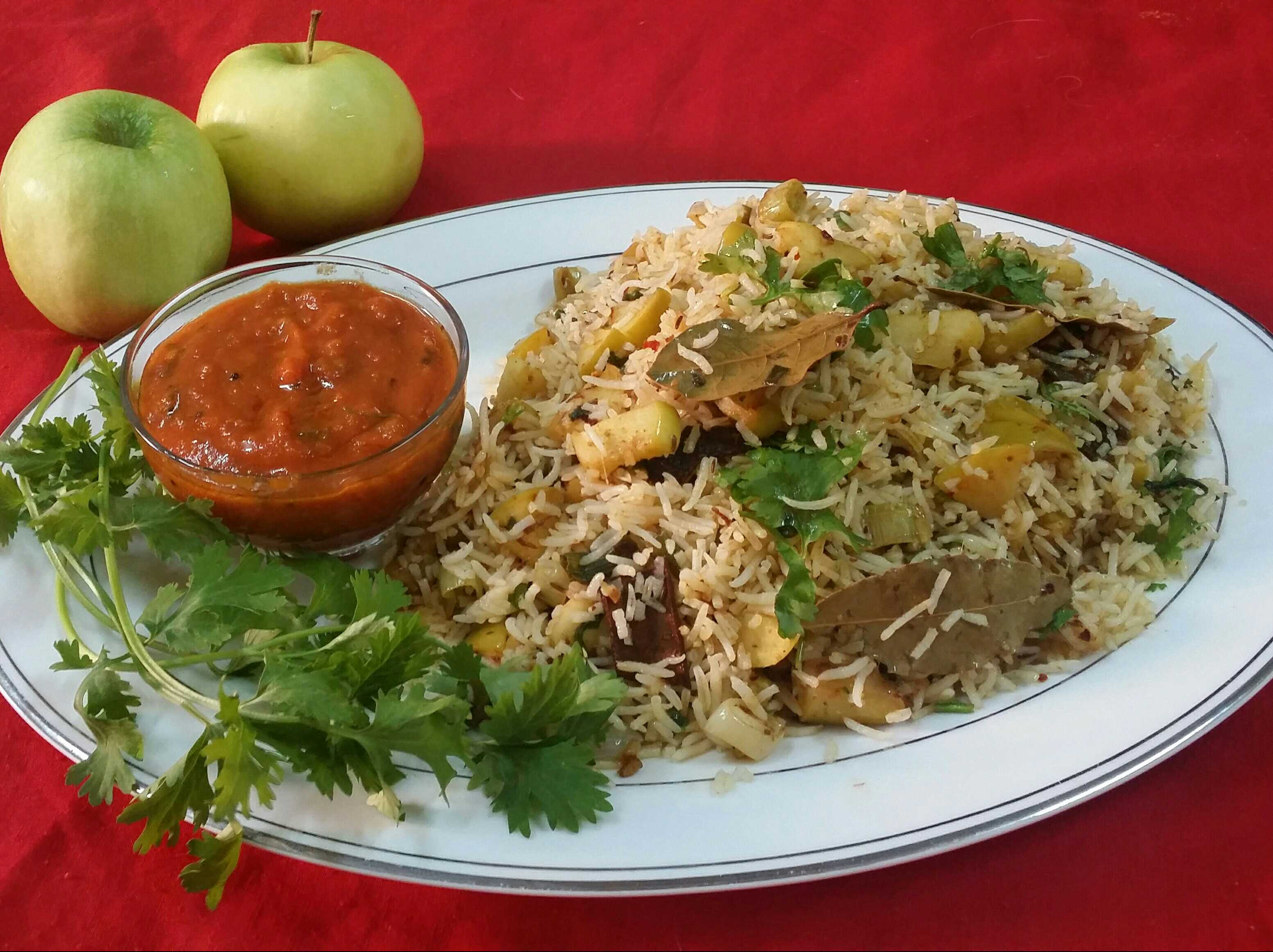 Green Apple Pilaf