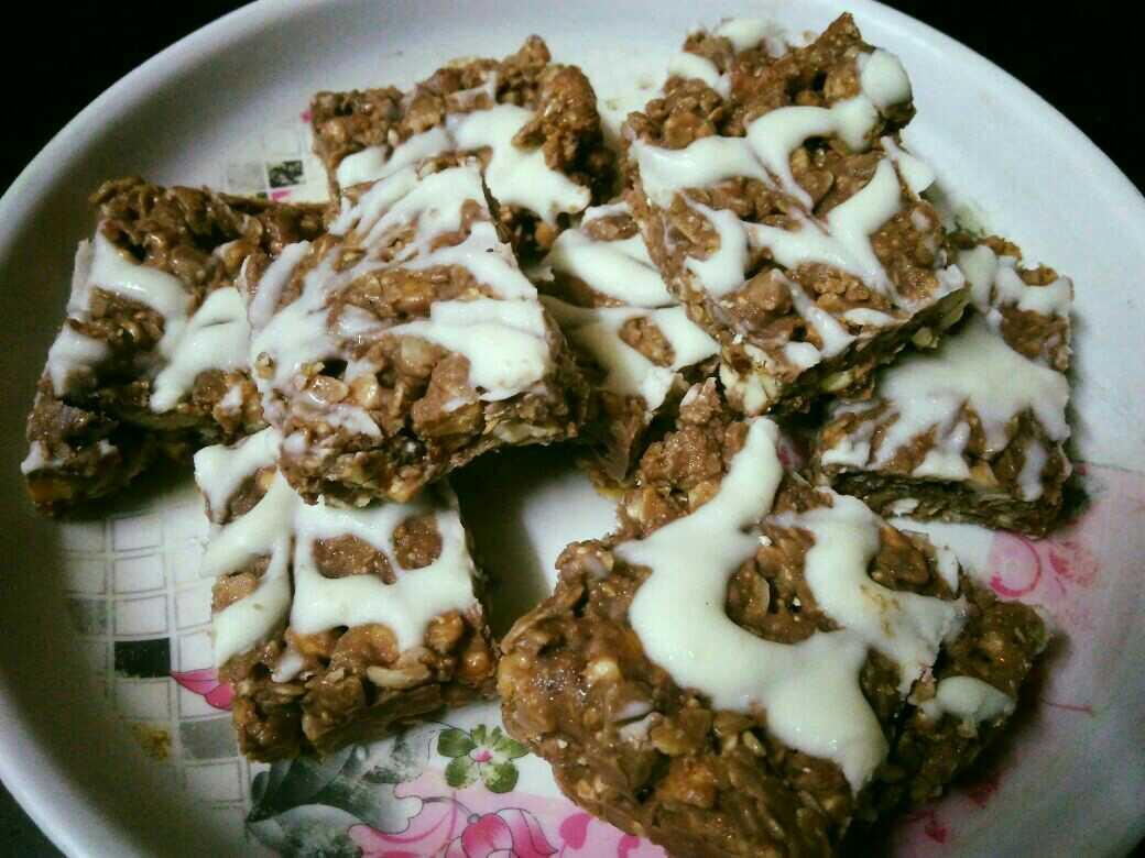 Oats Chocolate Chikki
