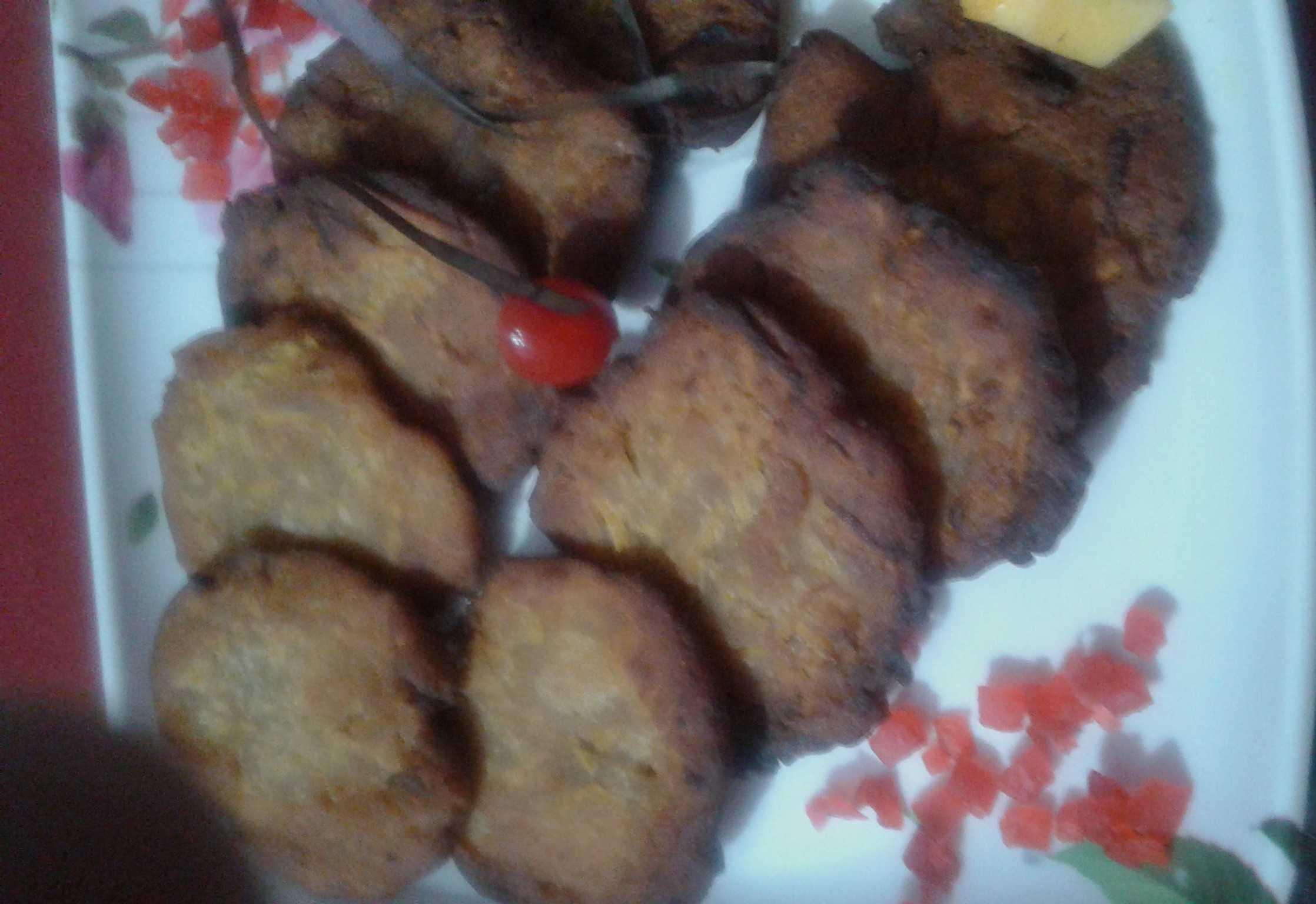 Jaggery Pumpkin Fritters