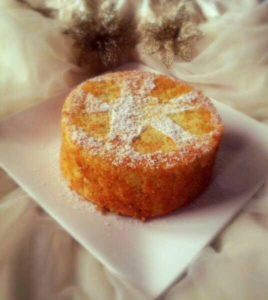 Feather Light Lemon Chiffon Cake