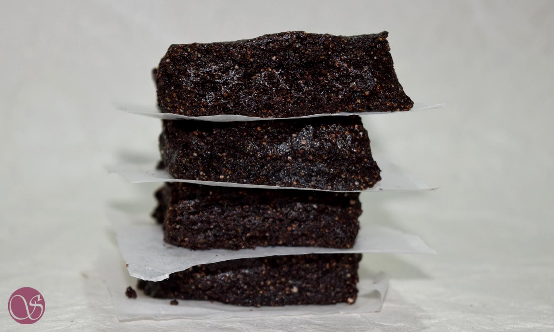 Healthy Chocolate Quinoa Brownies (Eggfree, Sugarfree and Gluten free)