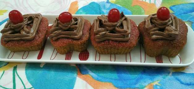 Beetroot Cupcakes With Chocolate Ganache Frosting