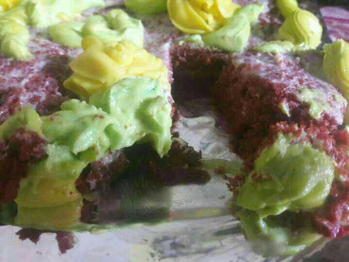 Wheat Flour Red Velvet Cake