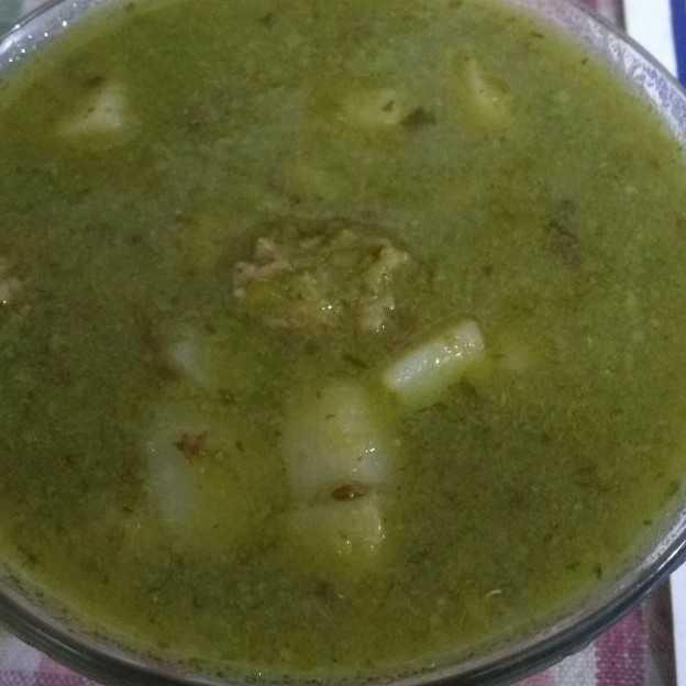 No Spices Minimum Oil Green Peas -wadi-potato Vege