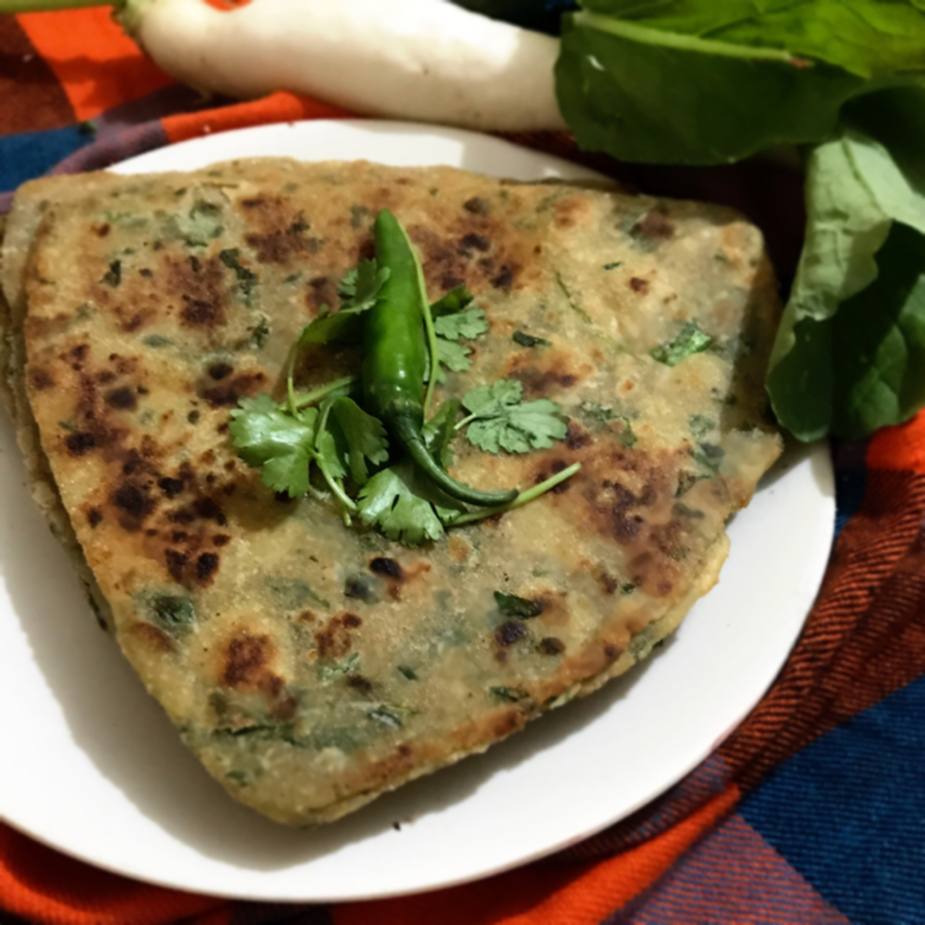 all in one paratha