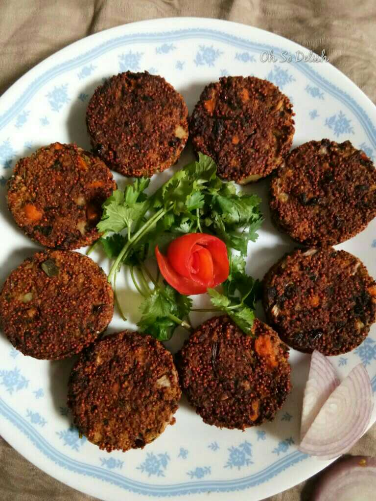 Sprouted Ragi And Chicken Cutlets