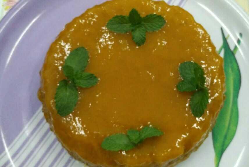 Eggless Mango Cake With Mango Glaze
