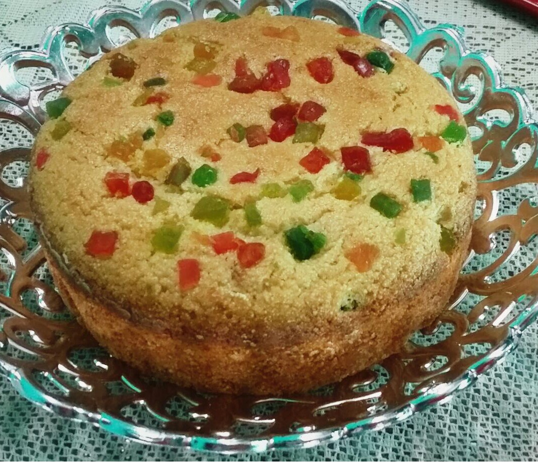 semolina tutti frutti cake