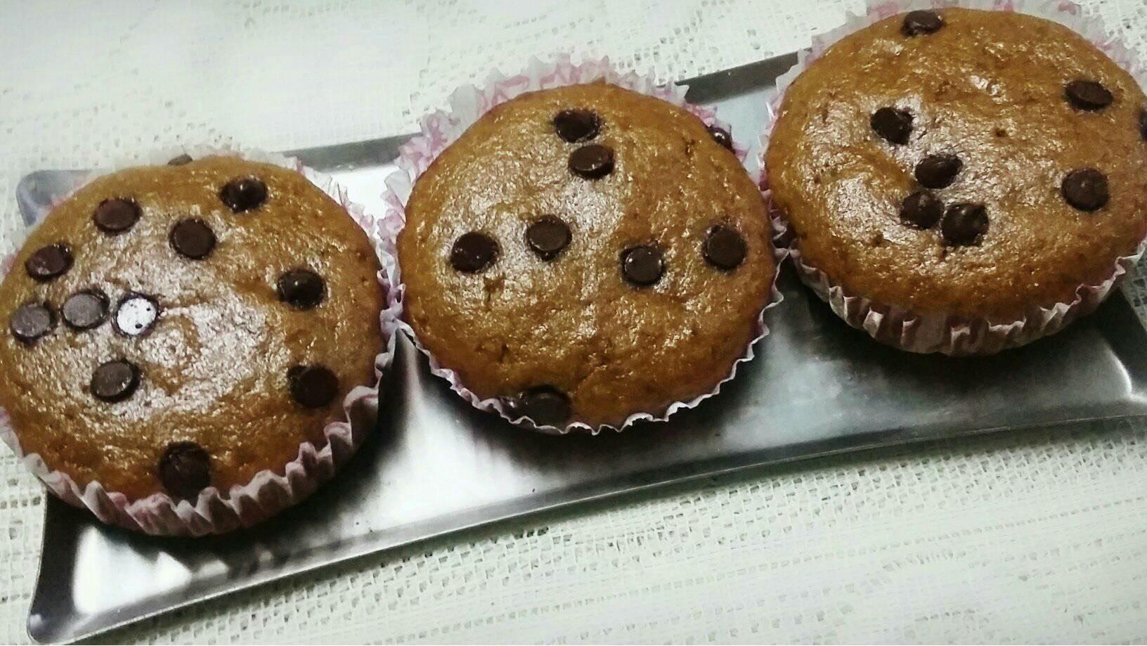 coffee banana muffin
