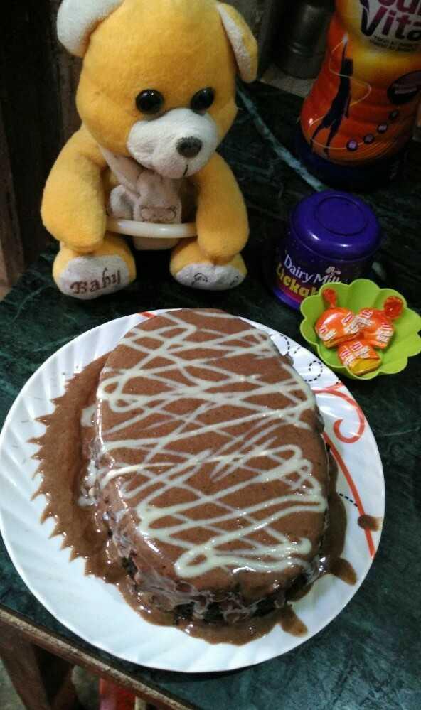 Chocolate Horlicks Cake