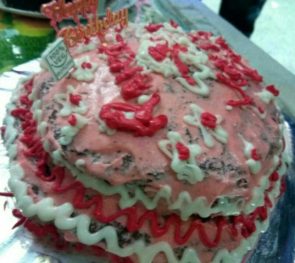 Wheat Flour Chocolate Cake(2 Tier Cake)
