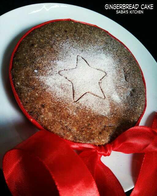 No Bake Gingerbread Cake