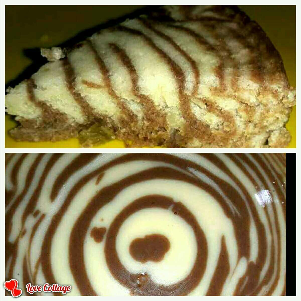 2Mins Zebra Cake...