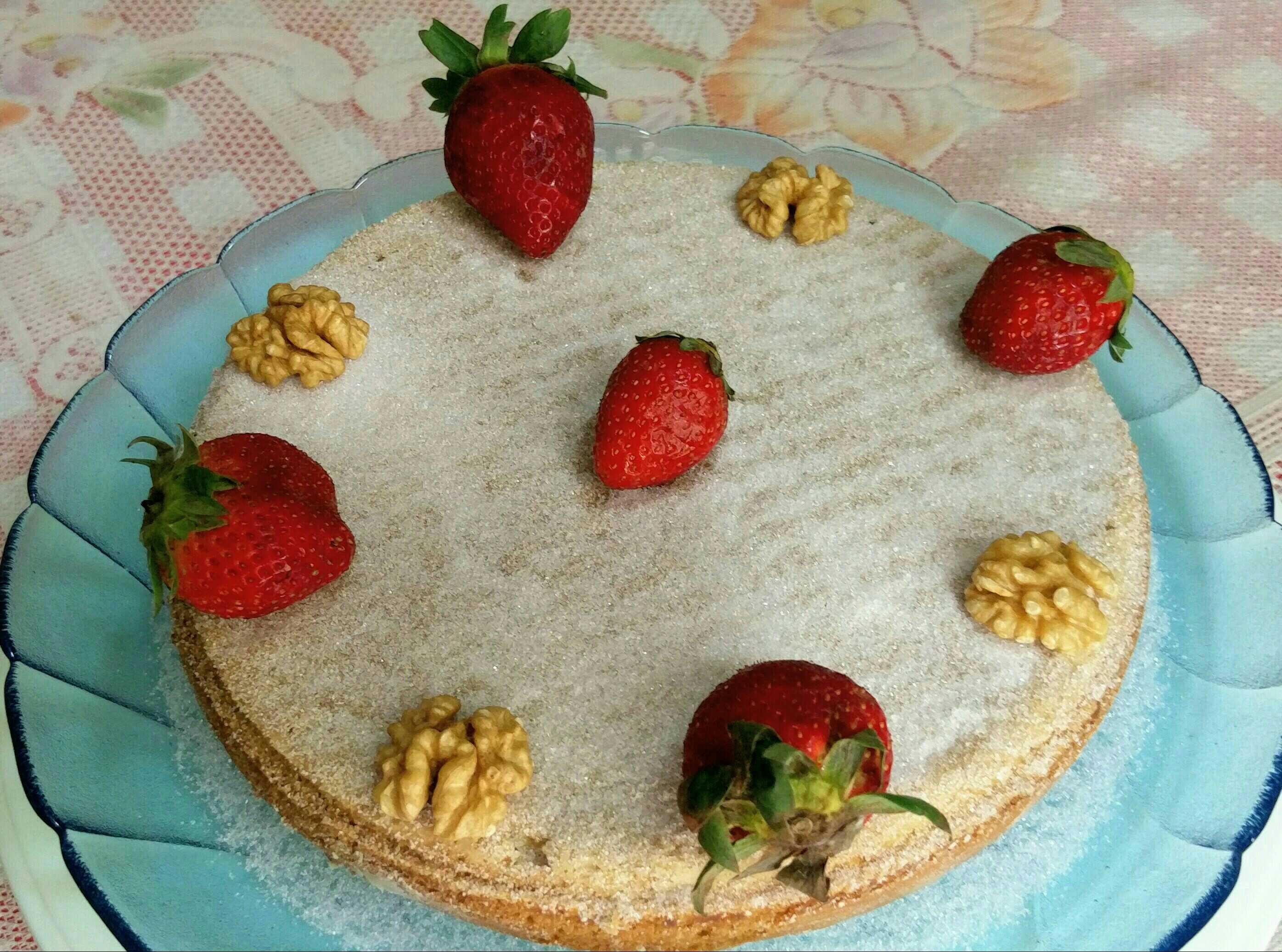 VEGAN (AQUAFABA) VANILLA SPONGE CAKE