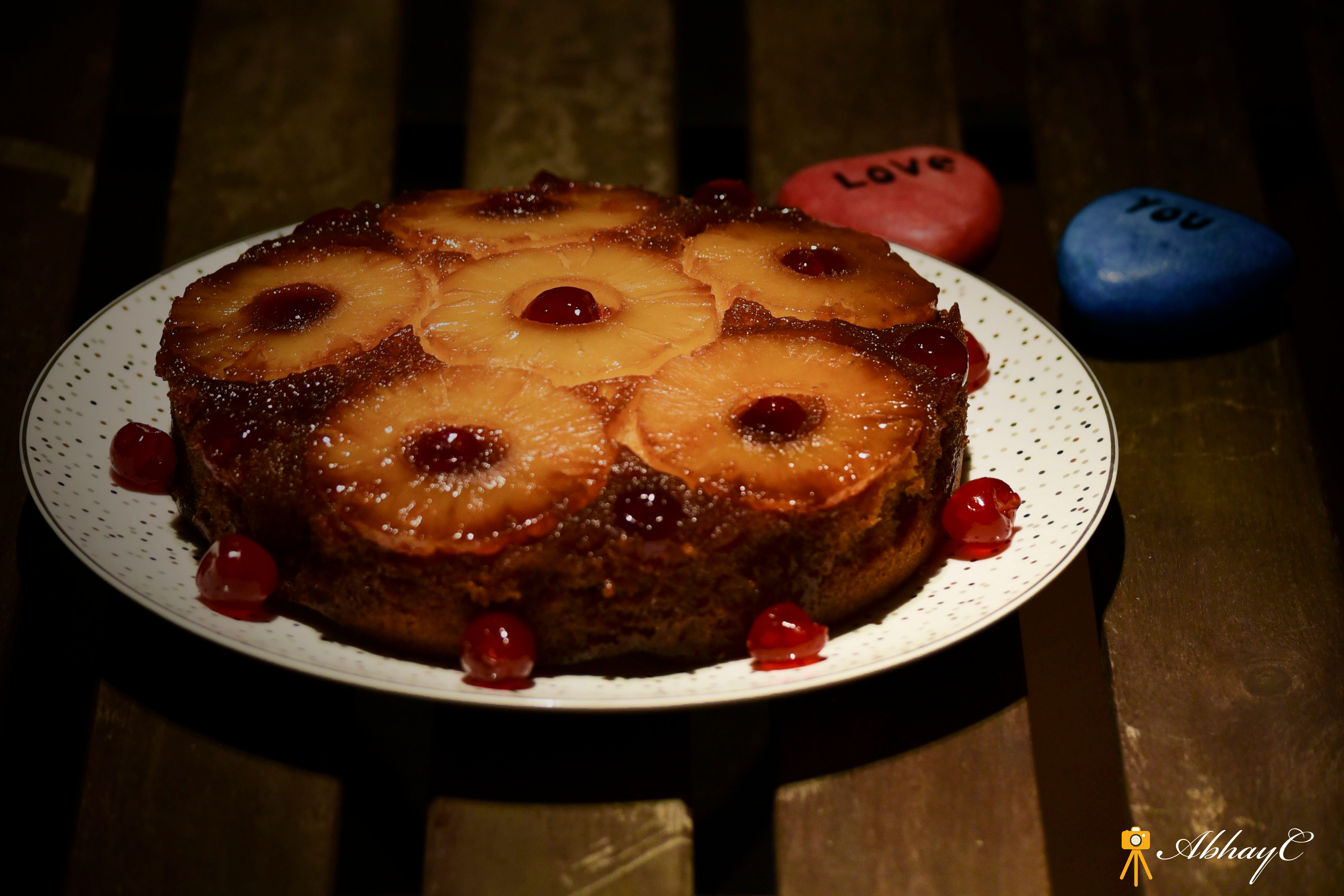 The luxurious Pineapple Upside-Down Cake!