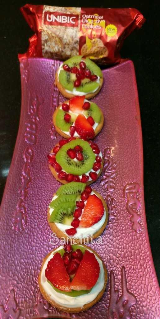 Unibic Mini Fruit Pizzas