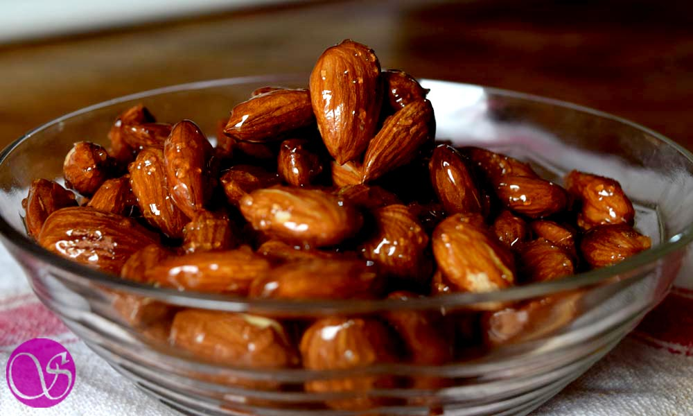 How to make quick and easy honey glazed almonds