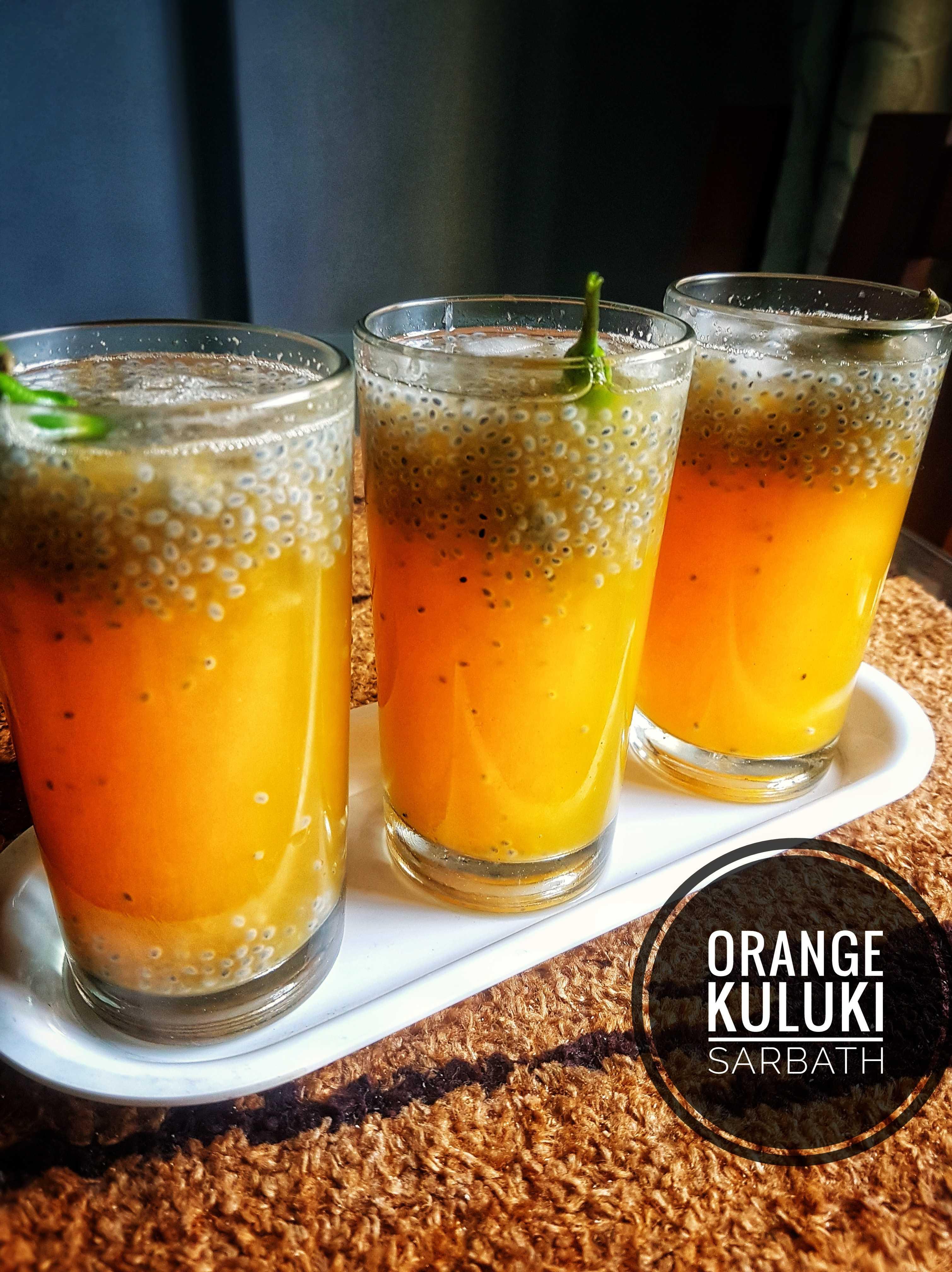 Orange Kuluki Sarbath