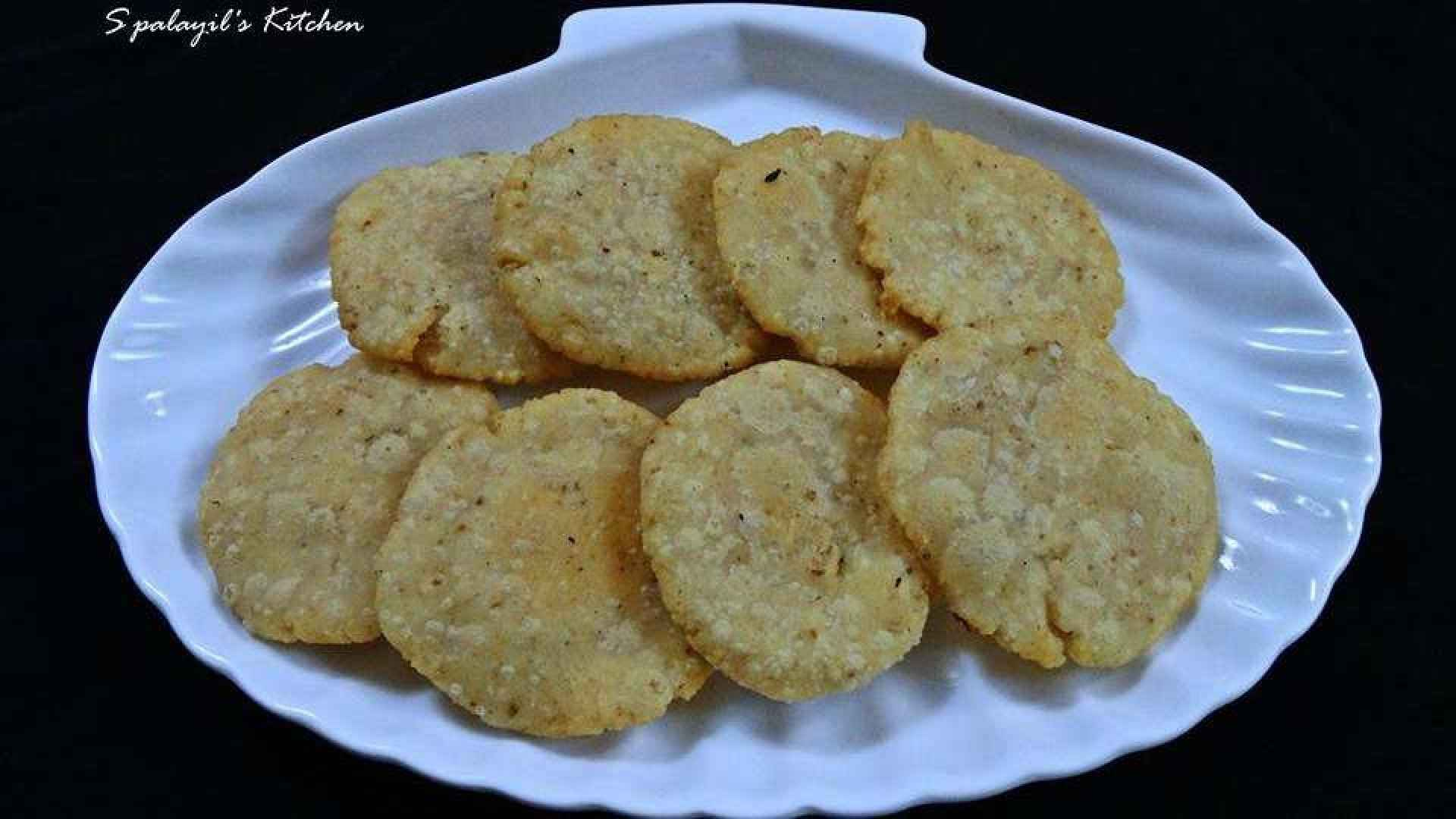 Rice-Coconut Fritters (Evening Snack item)