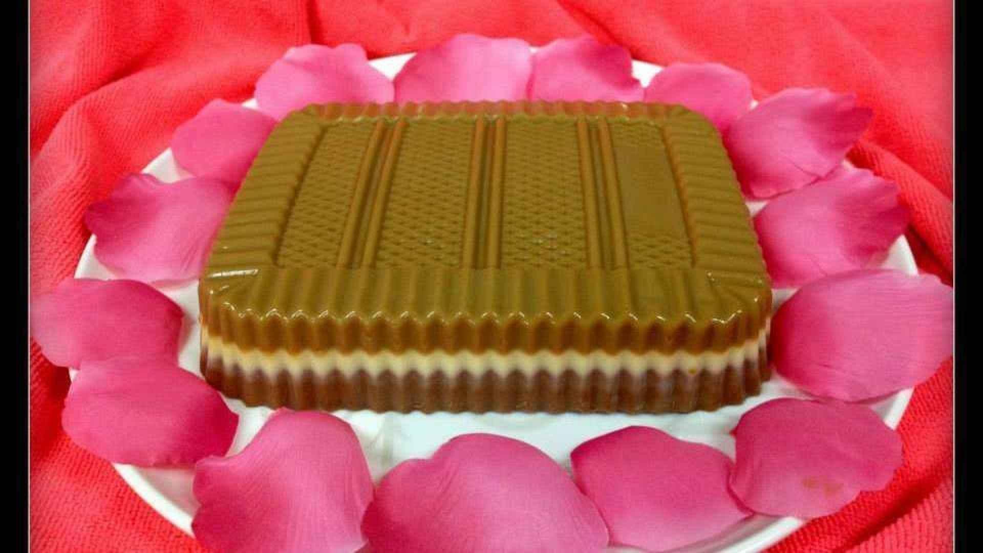 Triple Layer Pudding Dessert