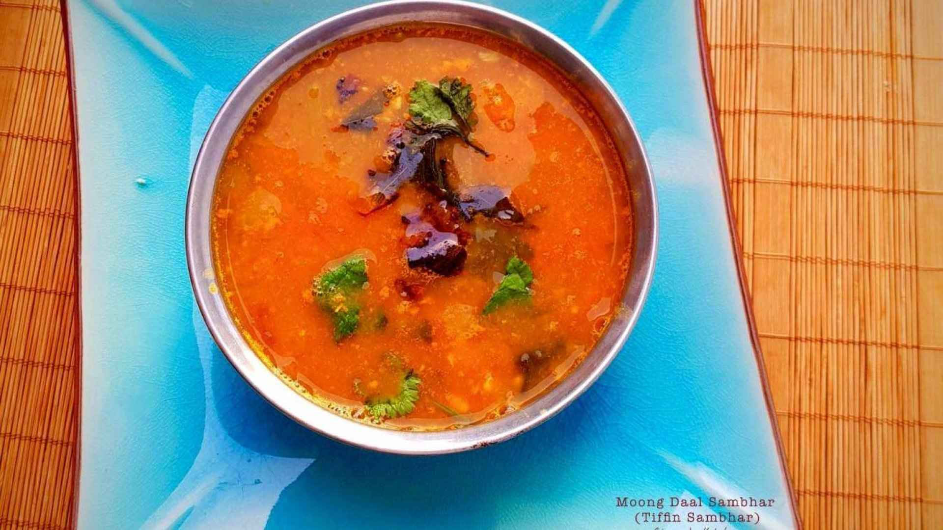MOONG DAAL SAMBHAR/ TIFFIN SAMBHAR