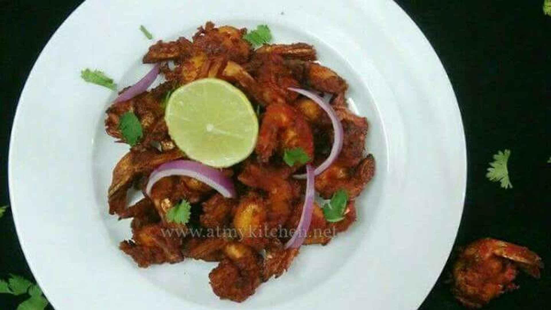 Prawn 65 recipe/ Shrimp recipe