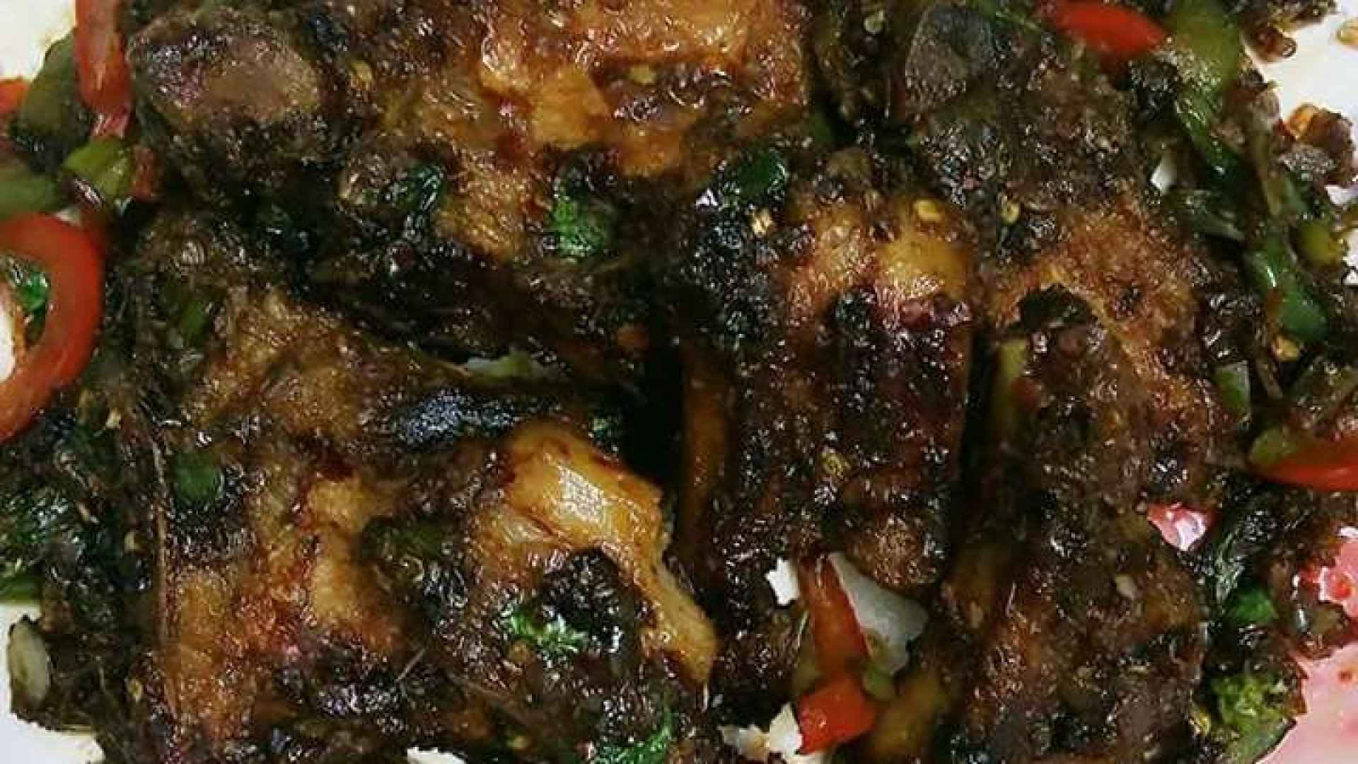 Sweet and spicy pork ribs/ How to make pork ribs recipe