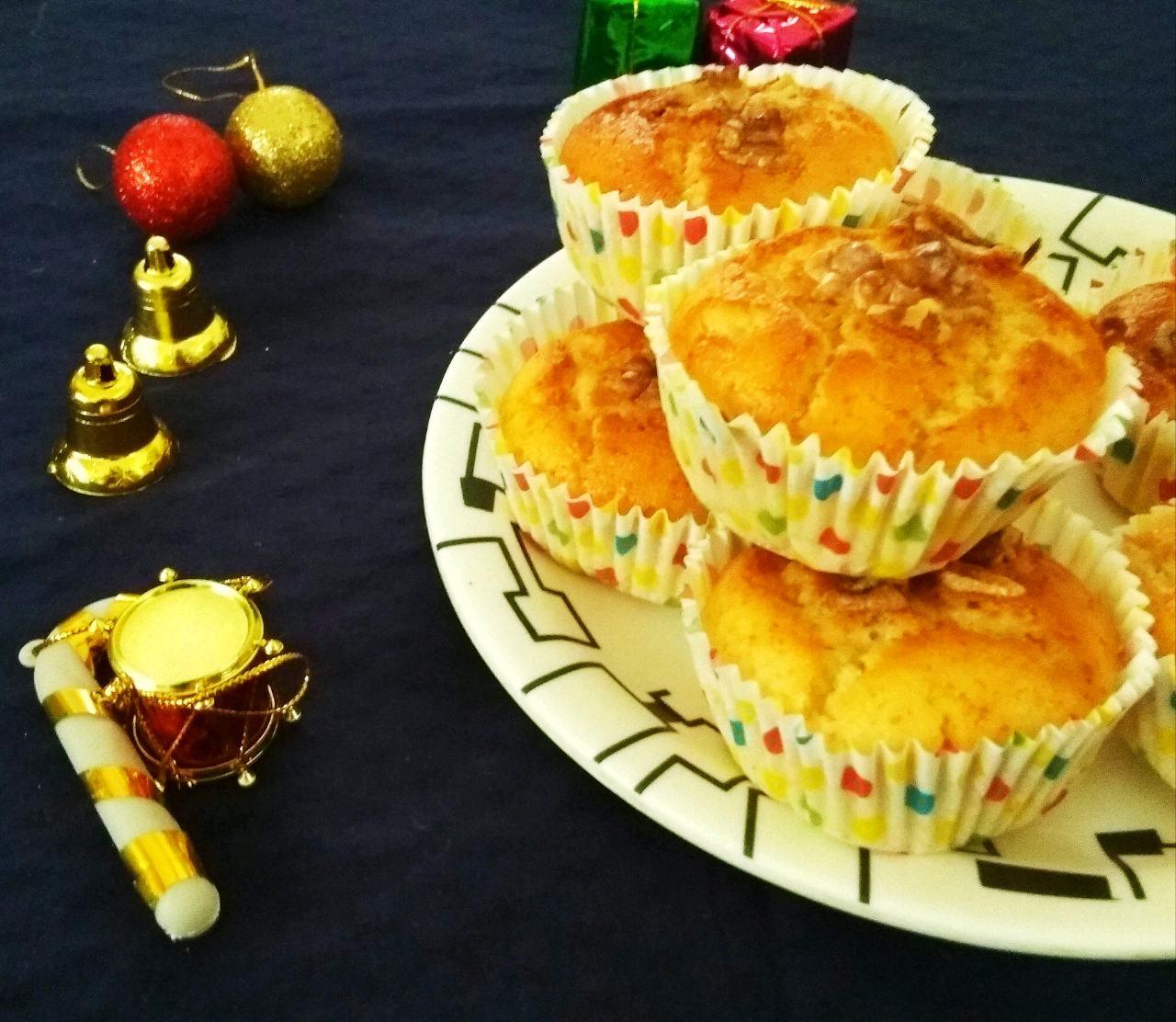 Walnut Bread Cupcakes
