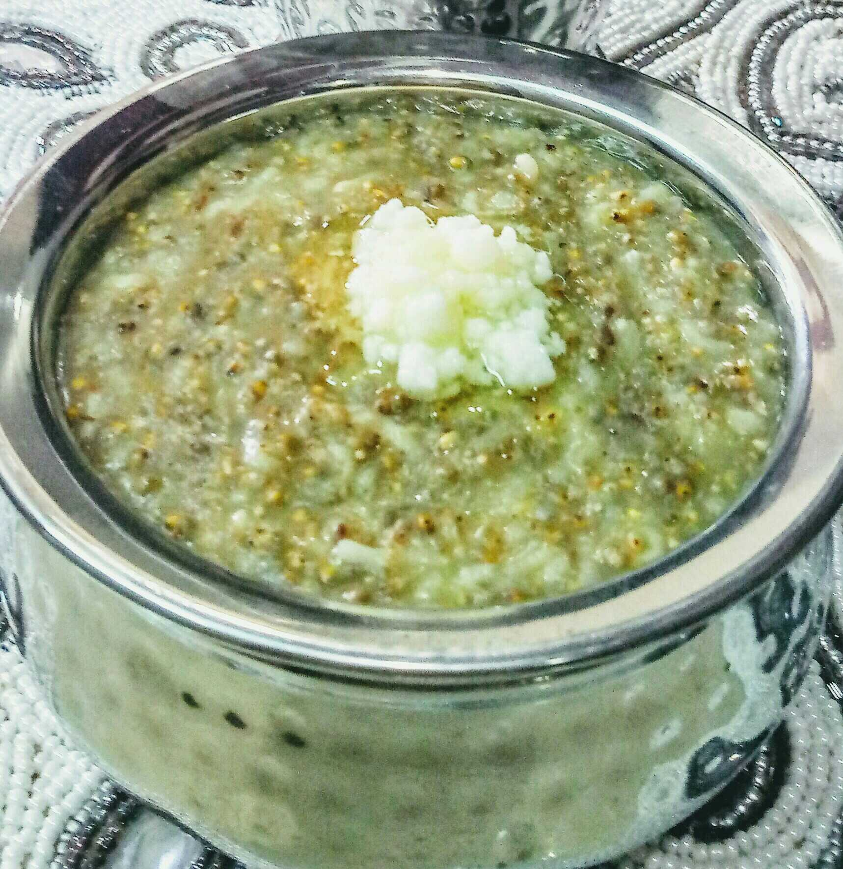 Pearl millets Khichdi
