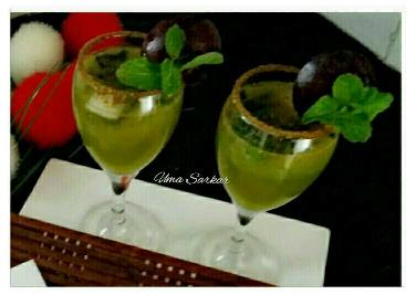 Green Apple Mocktails