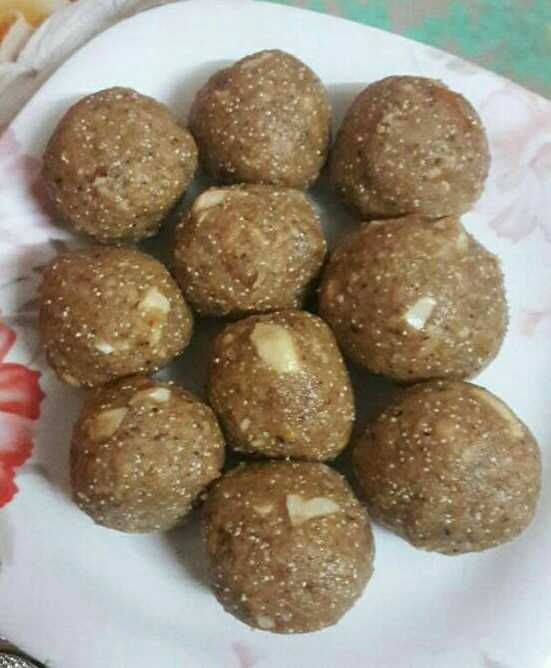 Energy Ladoo With Lots Of Dry Fruits