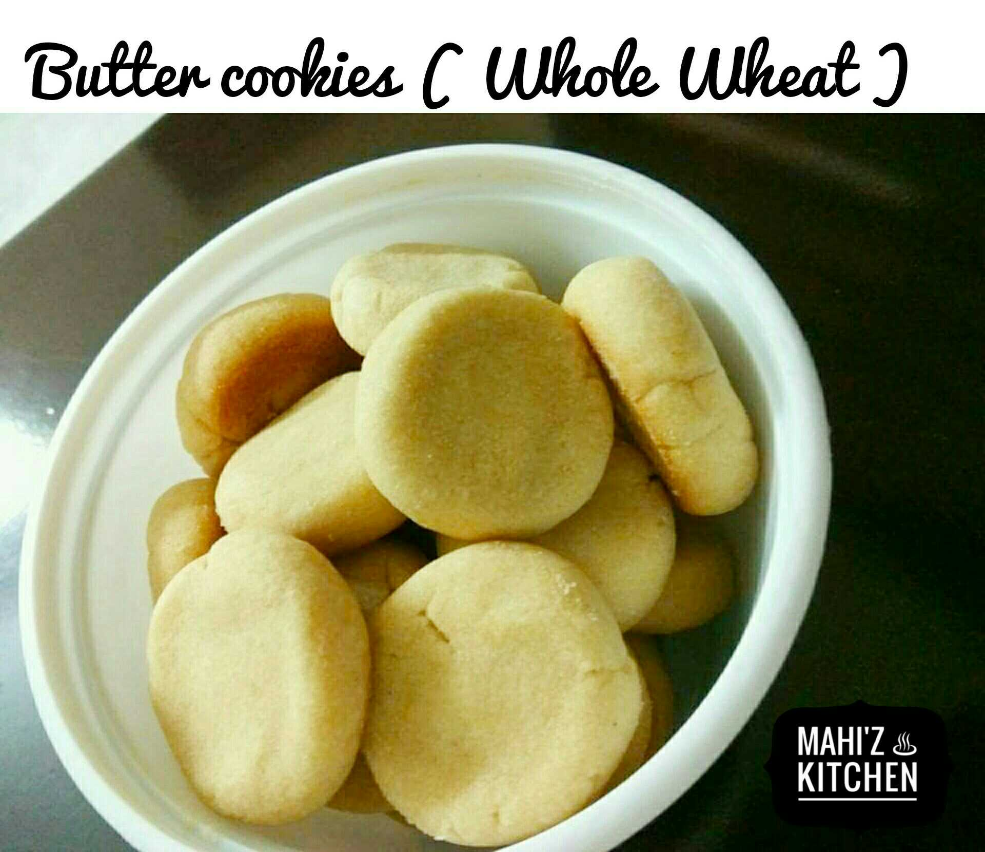 Butter Cookies ( Wheat )