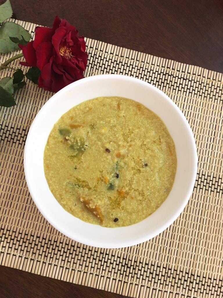 Wheat Khichuri