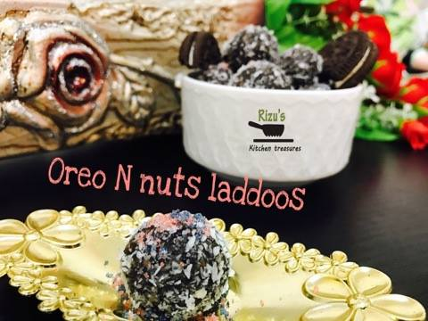 Oreo N nuts laddoos