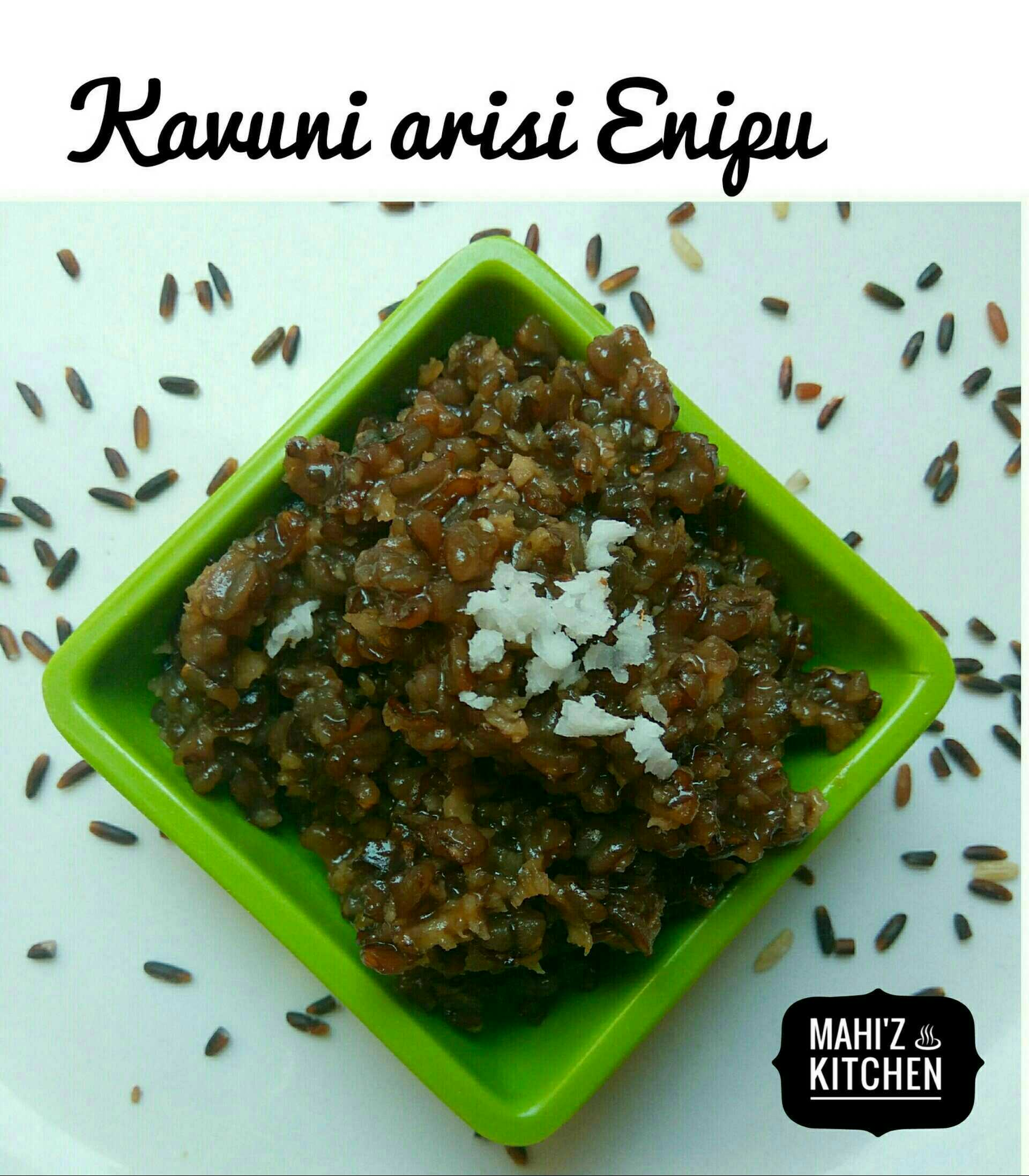 Black Rice Dessert / Kavuni Arisi Enipu